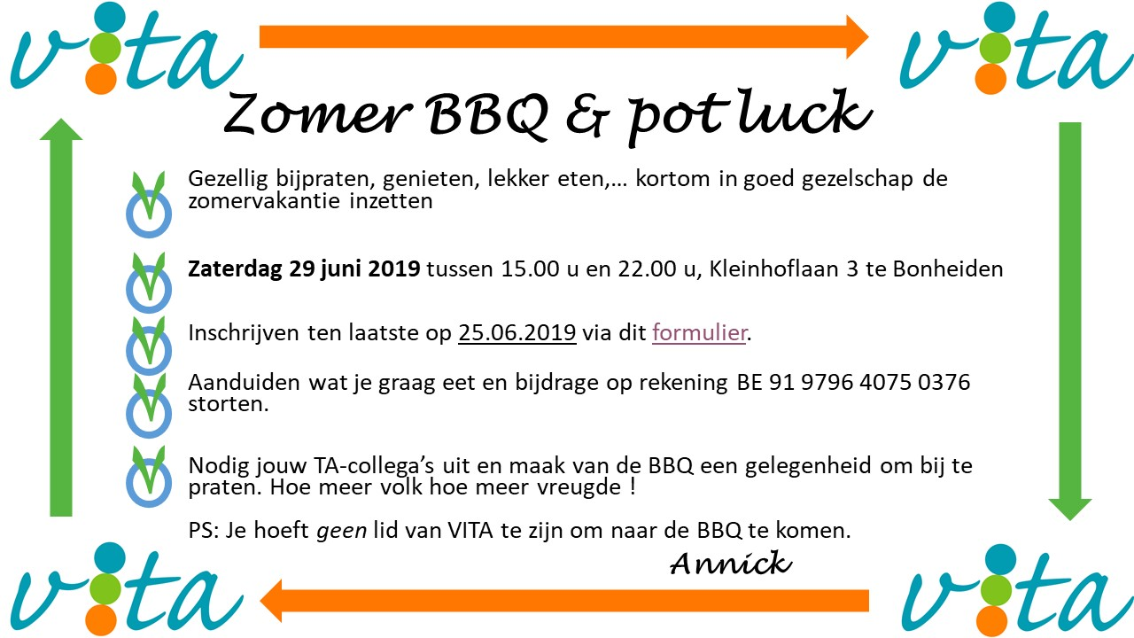 Zomer barbeque 2019